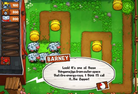 Tower Defense With Farm Animals and Aliens: 'Beware Planet Earth' Is Out