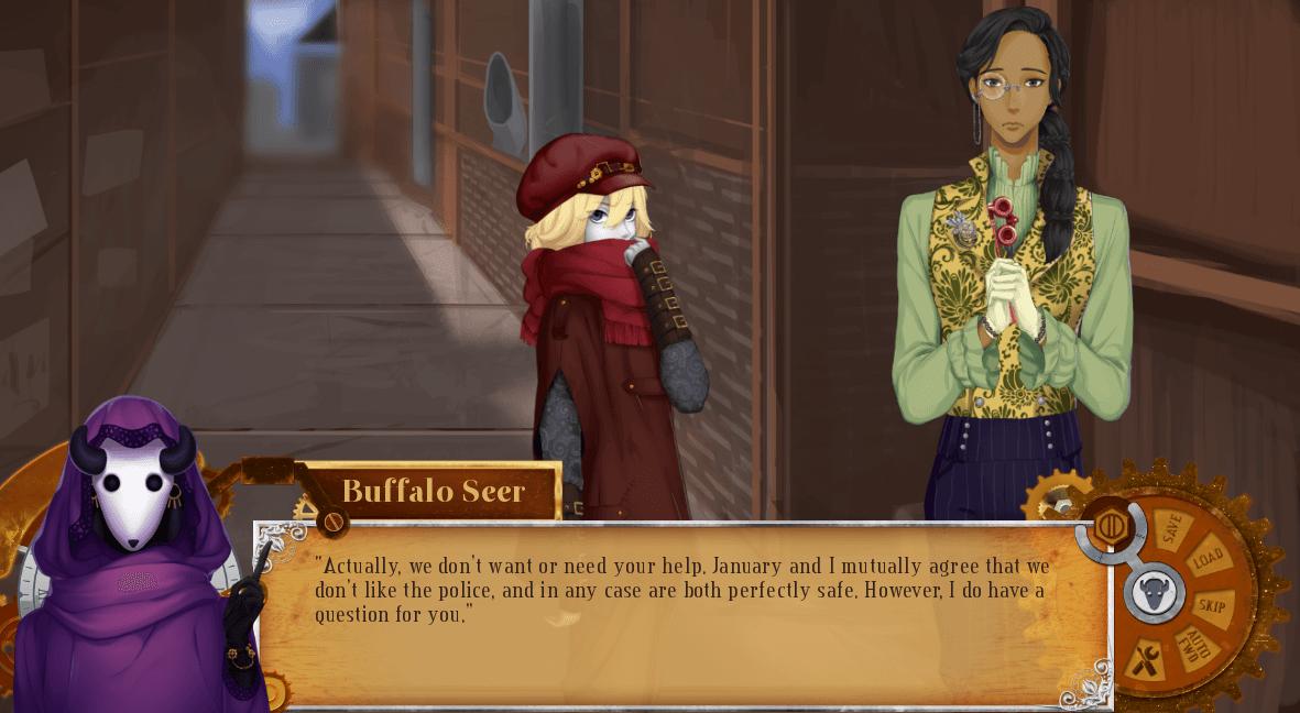 A Foretold Affair - Visual Novel (GL)