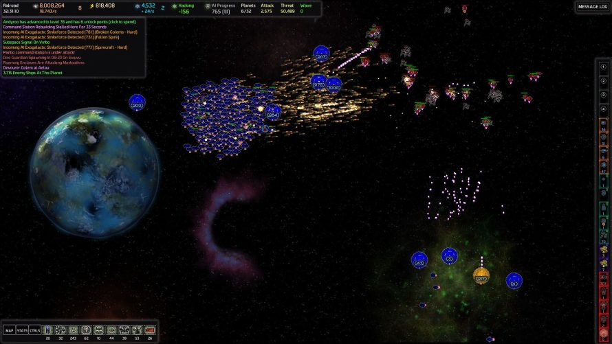 'AI War' Hits Linux Alongside Huge 8.0 Update and Sixth Expansion, 'Destroyer of Worlds'