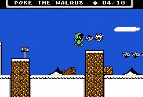 Fish Filled NES Platformer 'Alfonzo's Arctic Adventure' is Almost Ready to Rescue Bob