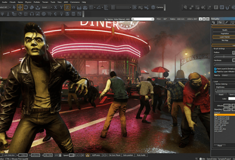 Shiver Me Timbers: Amazon Revs Up Their Lumberyard Engine Beta Without a Price Tag