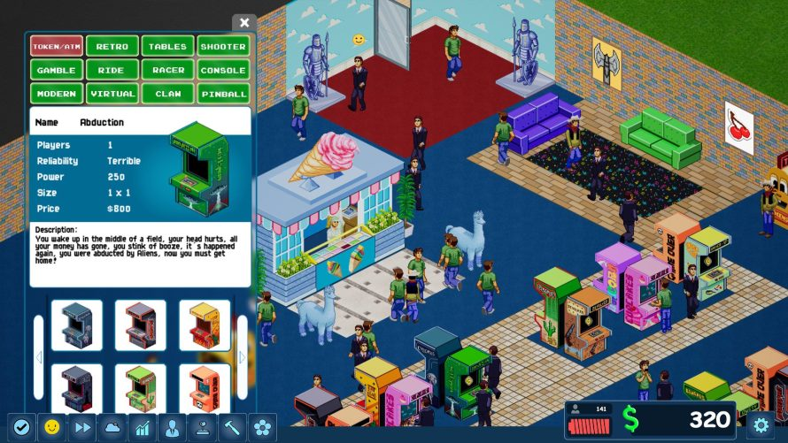 Grant Eternal Life to Coin-Op Games in 'Arcade Tycoon' While Filling Your Pockets