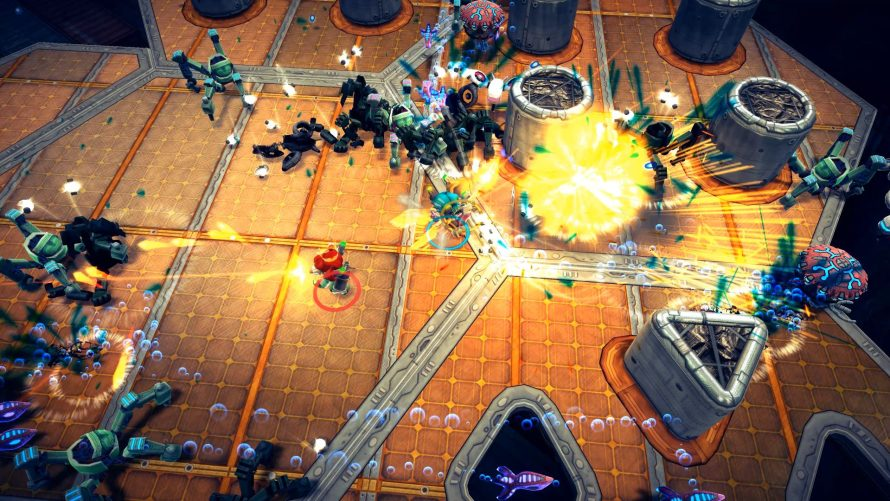 X Marks the Twin-Stick Shooter: 'Assault Android Cactus' Xbox One Port Coming Soon