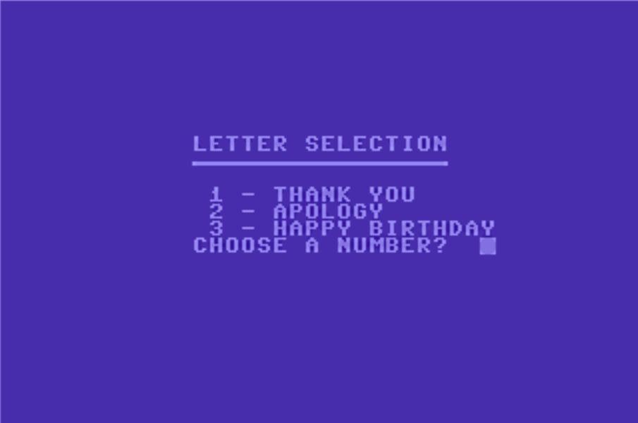 Automatic Letter Generator