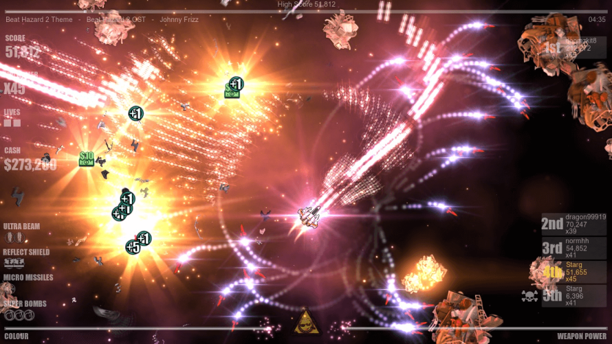 More Than Ultra: Music-Driven SHMUP 'Beat Hazard 2' Is About to Enter Early Access