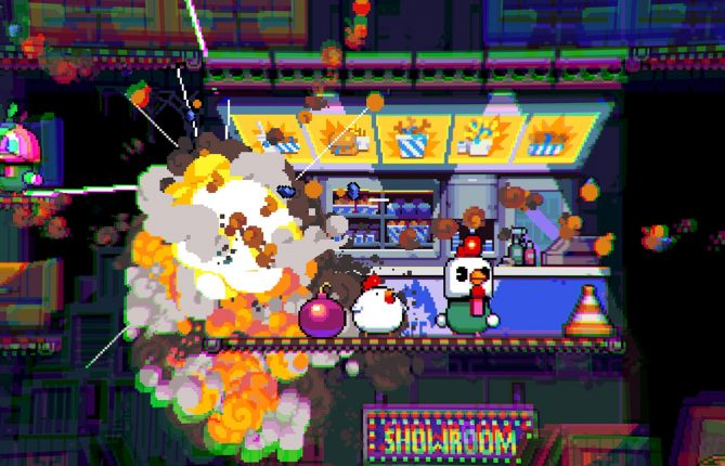 Big Bombs Blow Best: Switch Exclusive 'Bomb Chicken' Finally Explodes Onto Steam