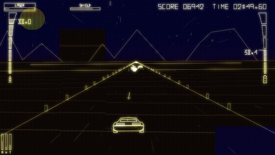 'Byte Driver' Lets You Hack Other Racers in Vector Style Like a Blast From the Past