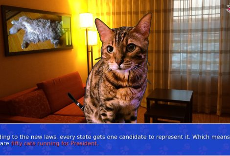 'Cat President ~A More Purrfect Union~' Is a Visual Novel Unlike Any Other