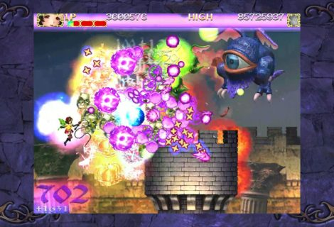 Bathe Your Desktop In an Angelic Purple Bullet Hell as 'Deathsmiles' Finally Reaches PC