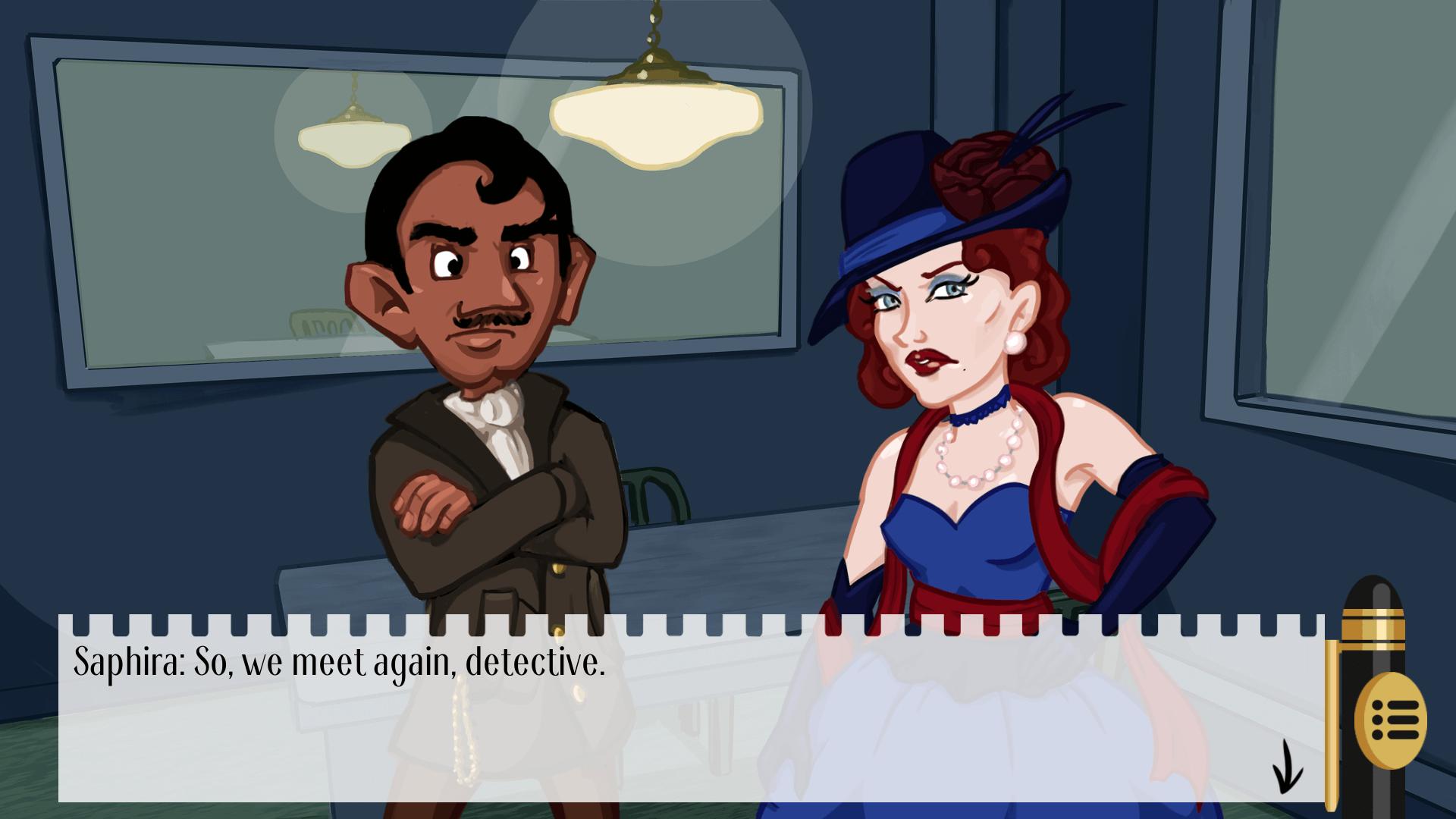 Detective Hank and the Golden Sneeze
