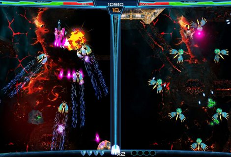 2 Screens, 1 SHMUP: 'Dimension Drive' Exiting Early Access for Switch Launch... Soon!