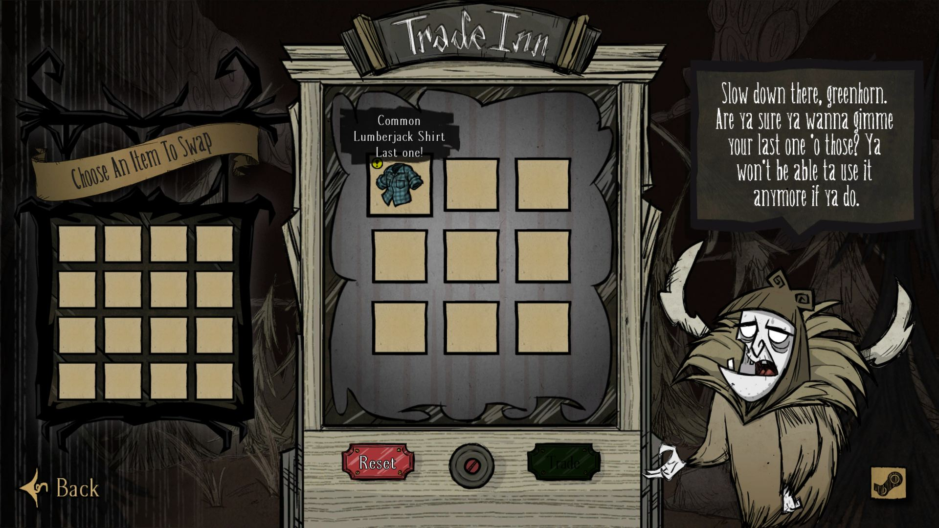 Dont Starve Together (Trade Inn)