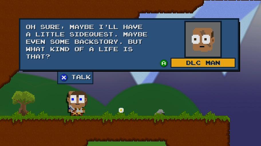 DLC Quest: Live Freemium Or Die