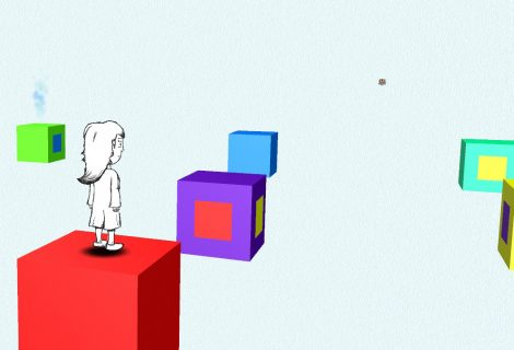 Guide a Lost Girl Through An Abstract Environment In 'Drew and the Floating Labyrinth'