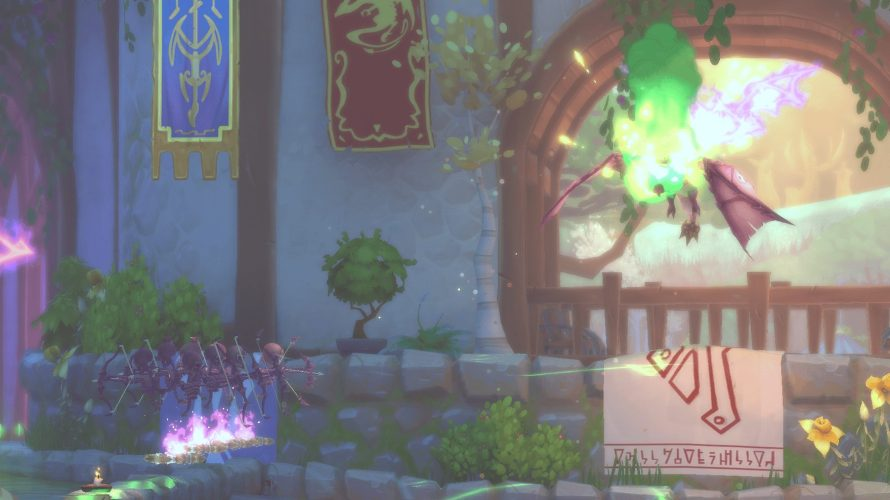 'Dungeon Defenders II's Latest Hero Just Wants to Watch the World Burn