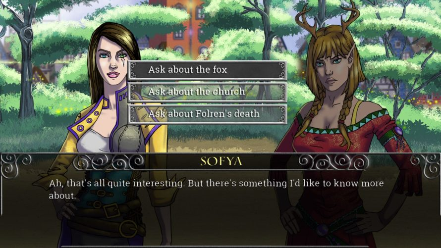 [Update: Greenlit] Stuck In Greenlight Limbo: 'Echoes of the Fey: The Fox's Trail'