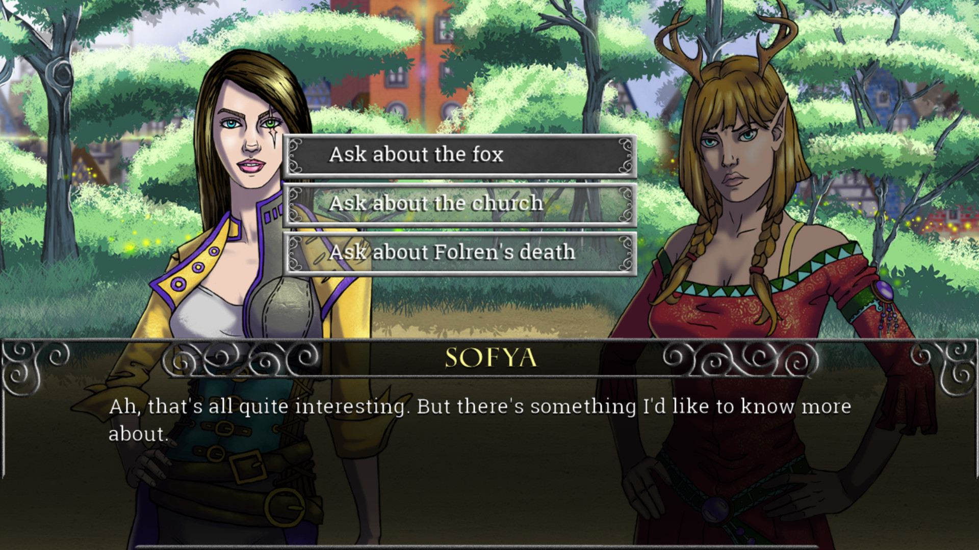 Echoes of the Fey: The Fox's Trail (GL)