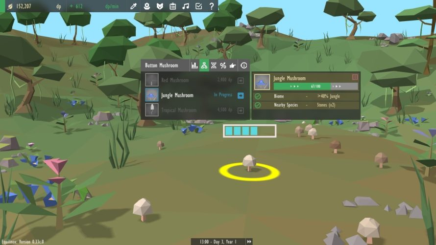 'Equilinox' Puts You in Charge of Entire Ecosystems, Evolving Animal and Plant Alike