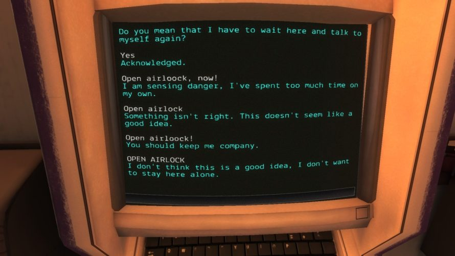 'Event[0]' Preview: Argue With a Self-Conscious Computer… In Space!
