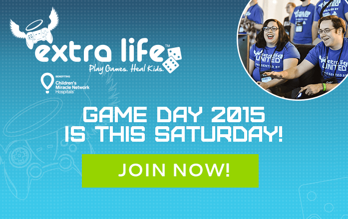 Marathon Gaming Fundraiser 'Extra Life' Kicks Off This Weekend