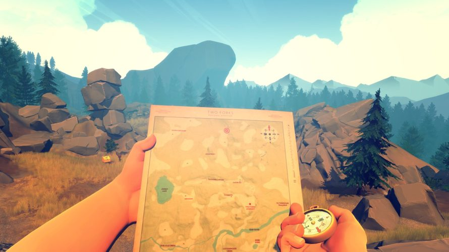 Official Printable 'Firewatch' Maps Are an Undeniable Increase of the Immersion Factor