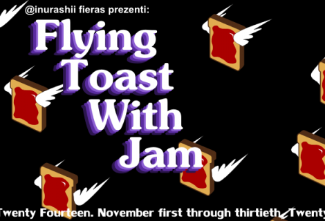 Flying Toast With Jam: Make a Non-Interactive Game In Memory of Screensavers