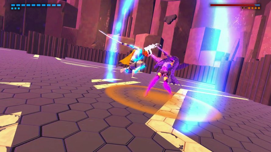 Brutal Boss Battler 'Furi' Gets Stylish on the Switch… With a Few Key Differences