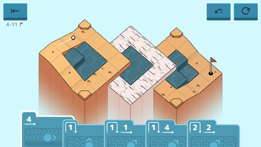 Go Clubbing by Playing the Right Cards to Puzzle Through 'Golf Peaks'