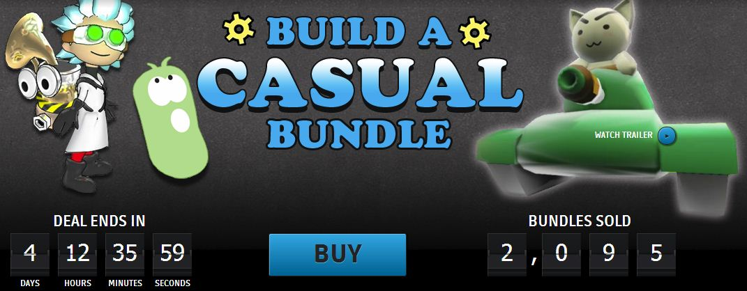 Groupees Build A Casual Bundle