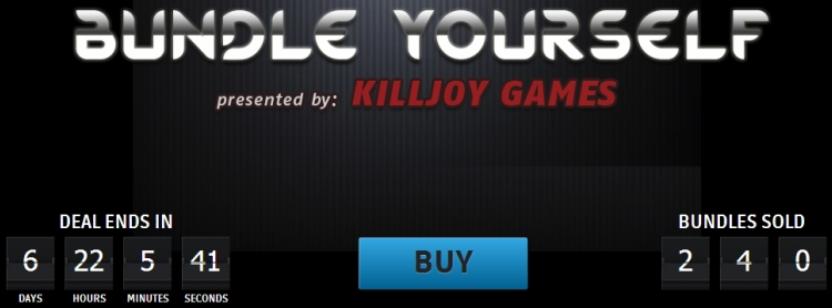 groupees bundle yourself killjoy games
