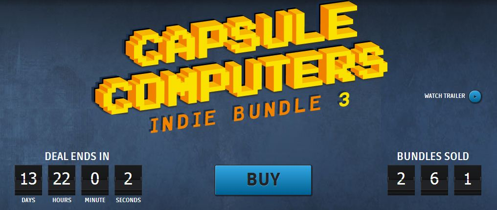 Groupees Capsule Computers Indie Bundle 3