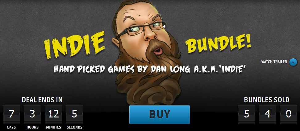 Groupees Dan Long Indie Bundle