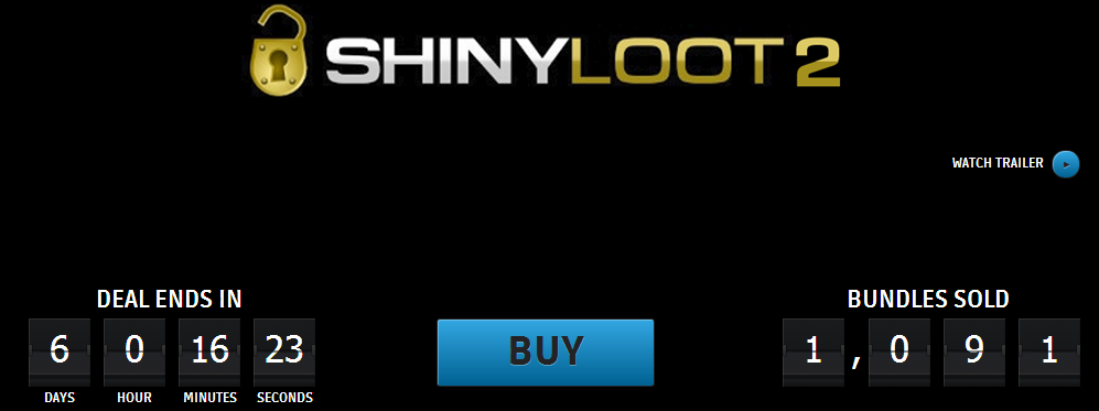 Groupees Shiny Loot 2