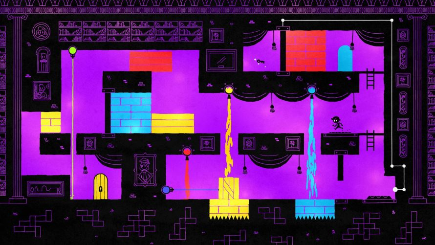 'Hue' Shapes a Contrasted Platforming Through Color(ful) Manipulation