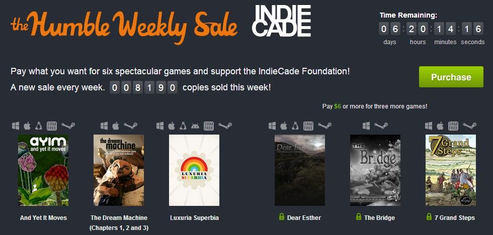 Humble Weekly: Indiecade