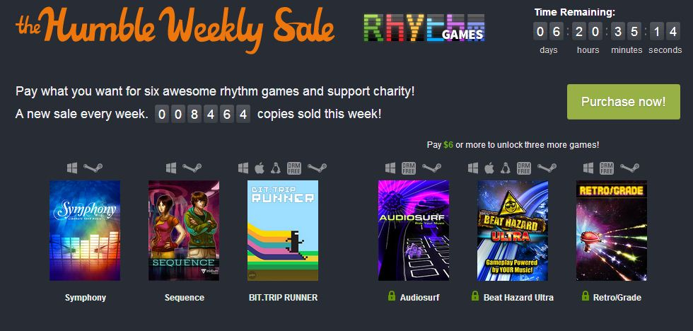 Humble Weekly: Rhythm Games