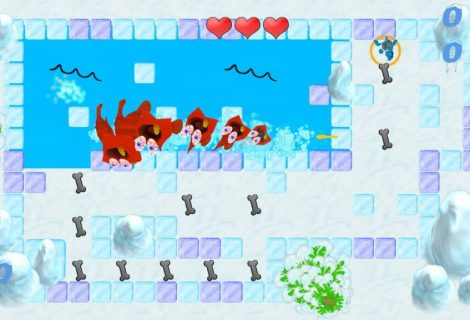 'Ice Escape: Steakosaurus Rescue' Brings Prehistory to Android and iOS