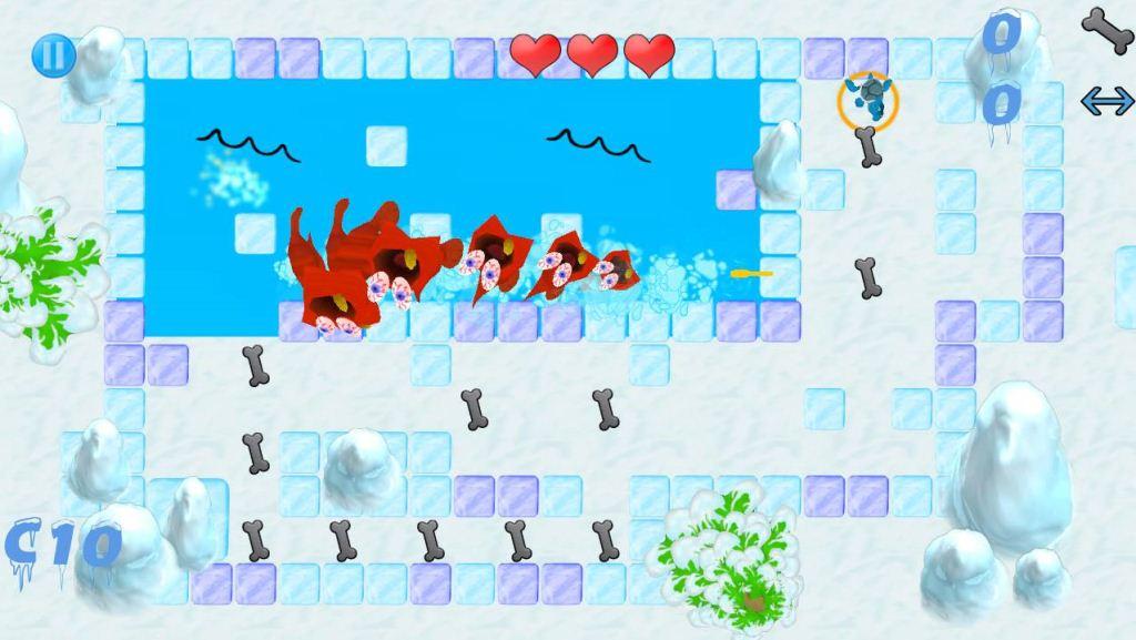 Ice Escape Steakosaurus Rescue
