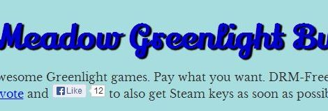 IndieMeadow's Greenlight Bundles the Greens; Remember to Vote