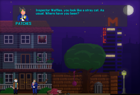 Every Cat and Dog is a Potential Suspect in Upcoming Murder Mystery 'Inspector Waffles'