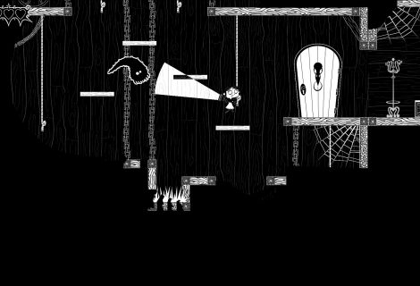 Help a Little Girl Shine Brightly to Navigate a Ghastly Mansion in 'Light&Dark'