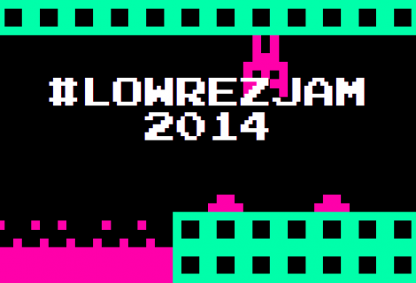 #LOWREZJAM 2014 Is the Nostalgia Trip of Game Jams