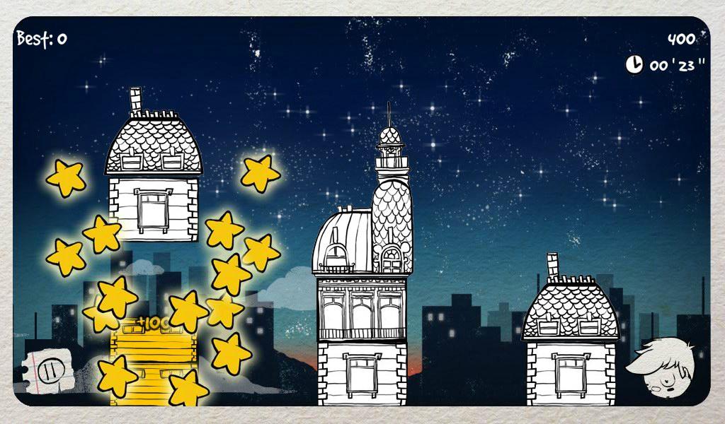 Luke at the Stars