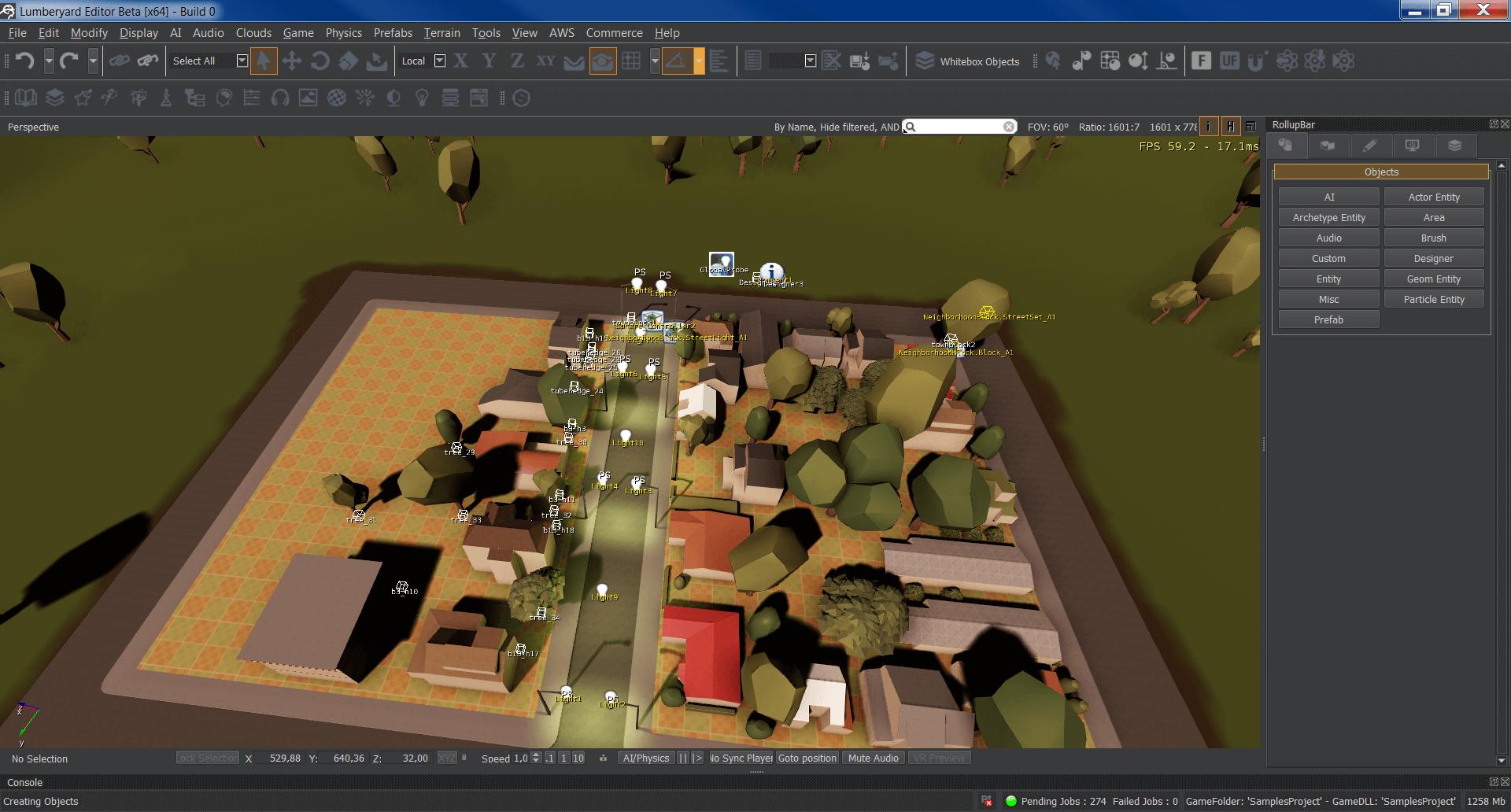 Lumberyard beta 1.5