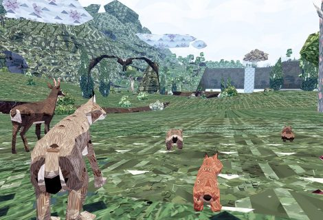 Might and Delight's 'Meadow' Asks You to Unleash Your Favorite 'Shelter' Animal... Online
