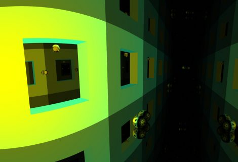 Become a Reflective Sphere in 'Mirror Drop' to Dream About Psychedelic Infinities
