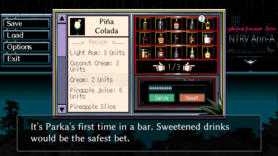 'N1RV ANN-A: Cyberpunk Bartender Action' Aims to Pour Drinks and Tell Stories… Soon!