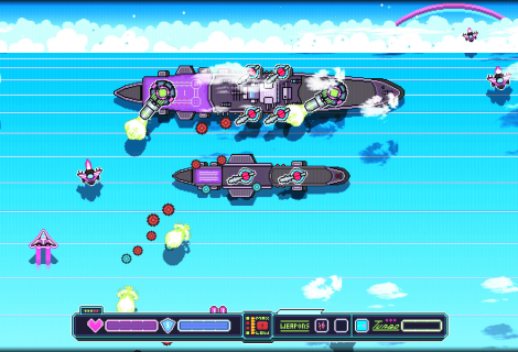 'Nighthaw-X3000' SHMUPs the 80s With a Rockin' Soundtrack and... Much Neon