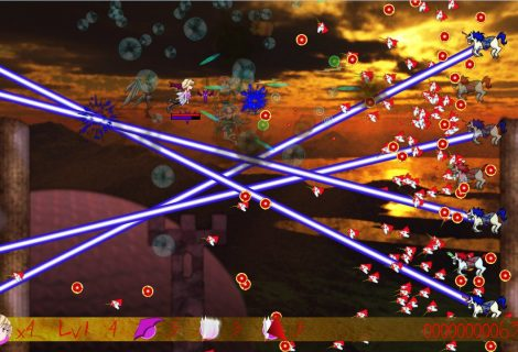 Time For Vampire Action In a SHMUP: 'Nuclear Unicorn Force' Is Out
