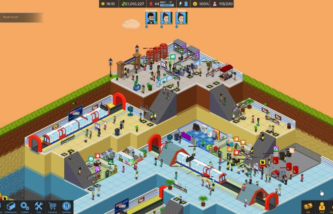 Mind the Gap: 'Overcrowd: A Commute 'Em Up' Mimics The London Underground Craze